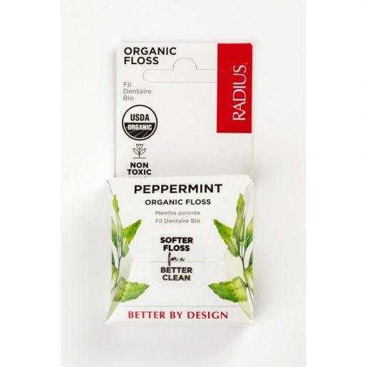 Radius, ekologiškas dantų siūlas, Peppermint