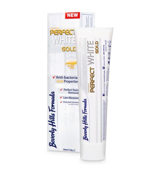 Balinamoji dantų pasta su tikru auksu