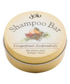 Kietas šampūnas Jolu riebiems plaukams 50 gr.