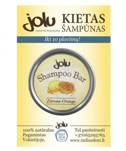 Kietas plaukų šampūnas 10 gr